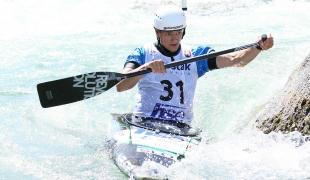 2021 ICF Canoe Slalom Junior & U23 World Championships Ljubjlana Adam Krizaj