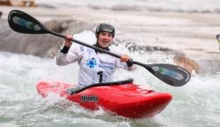 2020 ICF Canoe Extreme Slalom World Cup Ljubljana Slovenia Alsu MINAZOVA