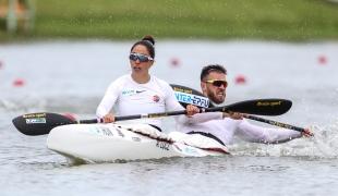 2021 ICF Canoe Sprint World Cup Szeged Anna LUCZ, Kolos CSIZMADIA