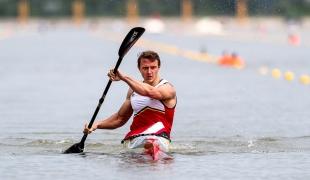 2021 Canoe Sprint European Olympic Qualifier Artuur PETERS