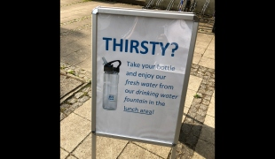 Augsburg drinking fountain information