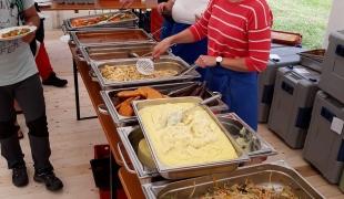 Augsburg food service