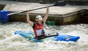 2019 ICF Extreme Canoe Slalom World Cup 4 Markkleeberg Caroline TROMPETER
