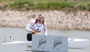 2021 ICF Canoe Sprint World Cup Szeged Conrad-Robin SCHEIBNER
