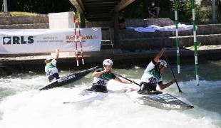 2021 ICF Canoe Slalom Junior & U23 World Championships Ljubjlana Czech Republic U23 C1 Womens Team