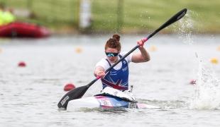 2021 Canoe Sprint European Olympic Qualifier Deborah KERR