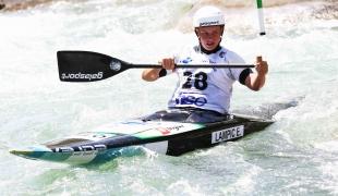 2021 ICF Canoe Slalom Junior & U23 World Championships Ljubjlana Ema Lampic