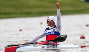 2021 Canoe Sprint European Olympic Qualifier Evgenii LUKANTSOV