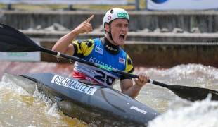 2021 ICF Canoe Slalom World Cup Markkleeberg Felix OSCHMAUTZ