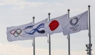 Tokyo 2020 Olympics Flags