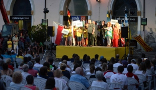 2018 ICF Canoe Freestyle World Cup 1 Sort Spain Opening Ceremony