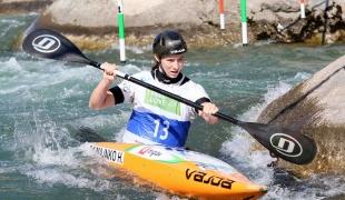 2021 ICF Canoe Slalom Junior & U23 World Championships Ljubjlana Helena Domajnko