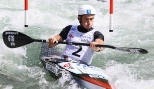 2021 ICF Canoe Slalom Junior & U23 World Championships Ljubjlana Jan Locnikar