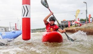 2021 ICF Canoe Slalom World Cup Markkleeberg Kseniia KRYLOVA
