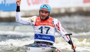 2021 ICF Canoe Slalom World Cup Prague Lukas ROHAN