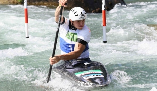 2021 ICF Canoe Slalom Junior & U23 World Championships Ljubjlana Marko Mirgorodsky