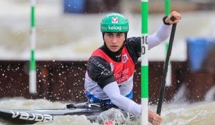 2021 ICF Canoe Slalom World Cup Markkleeberg Nadine WERATSCHNIG
