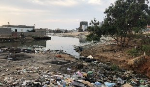 Plastic Mike Dawson Angola Clean Seas 2018