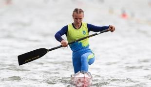 2020 ICF Canoe Sprint World Cup Szeged Hungary Olena TSYHANKOVA