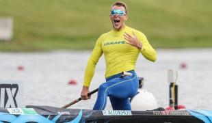 2021 Canoe Sprint European Olympic Qualifier Pavlo ALTUKHOV