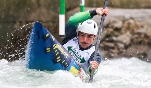 2020 ICF Canoe Slalom World Cup Ljubljana Slovenia Pedro GONCALVES