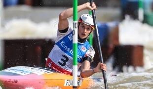 2021 ICF Canoe Slalom World Cup Markkleeberg Ricarda FUNK