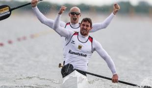 2021 ICF Canoe Sprint World Cup Szeged Sebastian BRENDEL, Tim HECKER