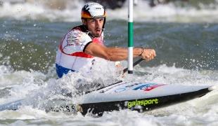 2019 ICF Canoe Slalom World Cup 4 Markkleeberg Sideris TASIADIS