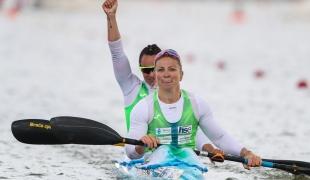 2021 ICF Canoe Sprint World Cup Szeged Spela PONOMARENKO JANIC, Anja OSTERMAN