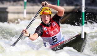 2019 ICF Canoe Slalom World Cup 4 Markkleeberg Tereza FISEROVA