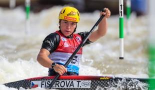 2021 ICF Canoe Slalom World Cup Markkleeberg Tereza FISEROVA