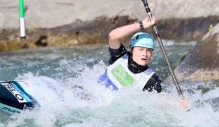 2021 ICF Canoe Slalom Junior & U23 World Championships Ljubjlana Ula Skok