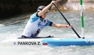 2021 ICF Canoe Slalom Junior & U23 World Championships Ljubjlana Zuzana Pankova