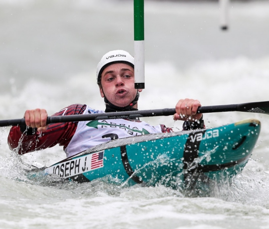 2020 ICF Canoe Slalom World Cup Ljubljana Slovenia Joshua JOSEPH