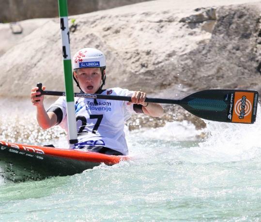 2021 ICF Canoe Slalom Junior & U23 World Championships Ljubjlana Klara Kneblova