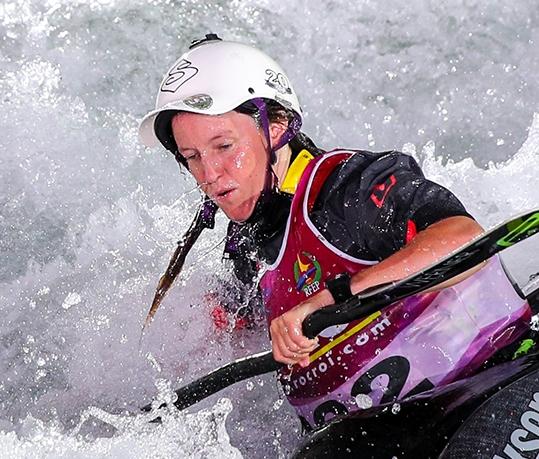 Marlene DEVILLEZ France ICF Canoe Kayak Freestyle