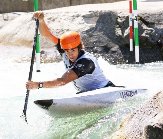 2021 ICF Canoe Slalom Junior & U23 World Championships Ljubjlana Martino Barzon