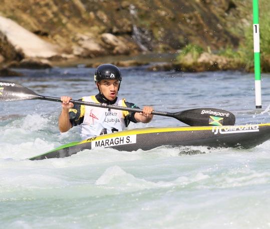 Jamaica Solomon Maragh junior K1 Tacen 2021