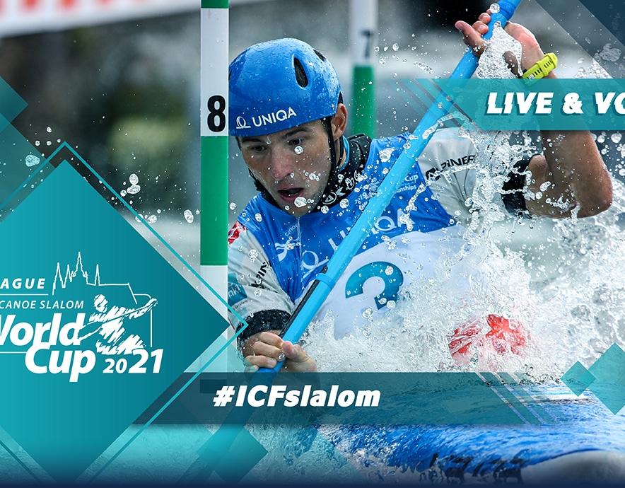 2021 ICF Canoe Kayak Slalom World Cup 1 Prague Czech Republic Tokyo 2020 Olympic Selection Live TV Coverage Video Streaming