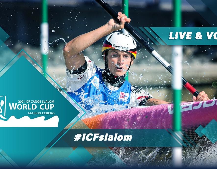 2021 ICF Canoe Kayak Slalom World Cup 2 Markkleeberg Germany Tokyo 2020 Olympic Selection Live TV Coverage Video Streaming