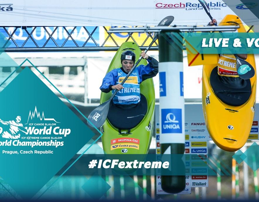 2019 ICF Canoe Extreme Slalom World Championships Prague Czech Republic