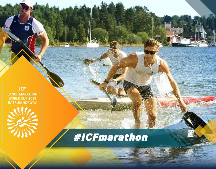 2019 ICF Canoe Marathon World Cup Baerum Norway
