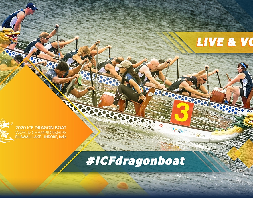 2020 ICF Canoe Kayak Dragon Boat World Championships Bilawali Lake Indore India Live Coverage