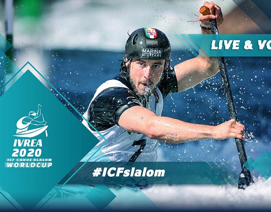 2020 ICF Canoe Kayak Slalom World Cup 1 Ivrea Italy Live Coverage