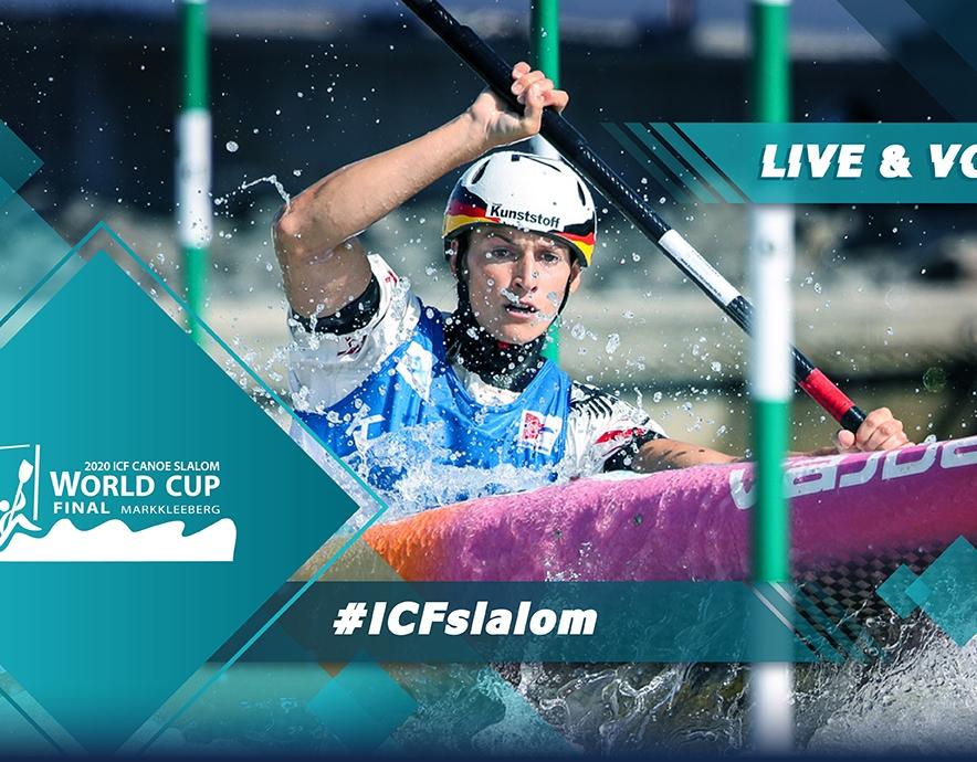 2020 ICF Canoe Kayak Slalom World Cup 5 Final Markkleeberg Germany Live Coverage