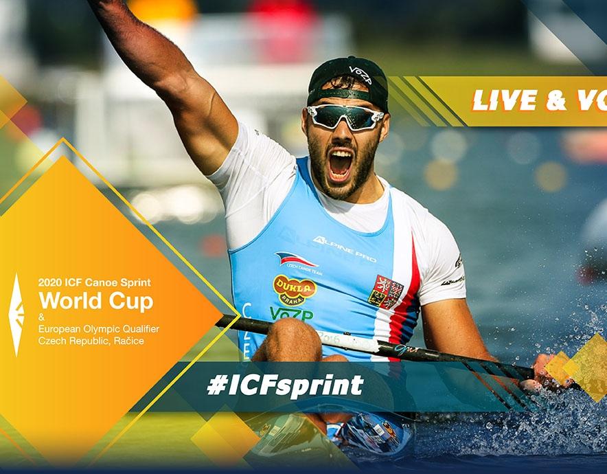 2020 ICF Canoe Kayak Sprint World Cup 1 & European Tokyo Olympic Qualifier Racice Czech Republic Live Coverage