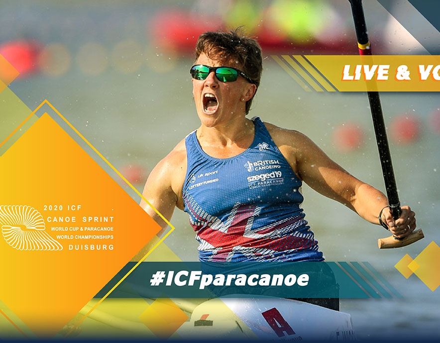 2020 ICF Paracanoe Kayak World Cup 2 Duisburg Germany Live Coverage