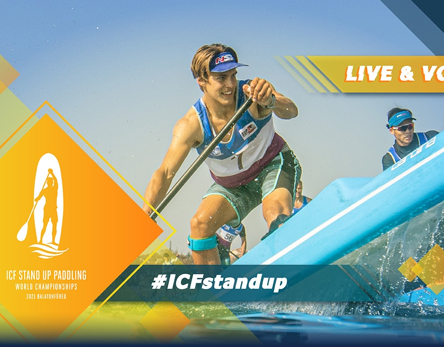 2021 ICF Stand Up Paddling SUP World Championships Balatonfüred Hungary Live TV Coverage Video Streaming