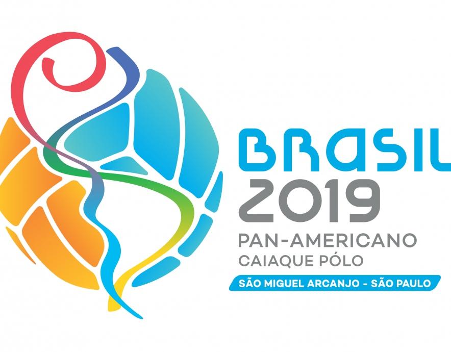 Logo - 2019 COPAC canoe polo championships - Brazil