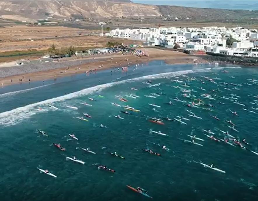 Canoe Ocean Racing Lanzarote 2019